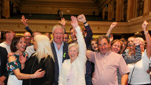 The Lord Mayor of Cork is re-elected in the South Central ward