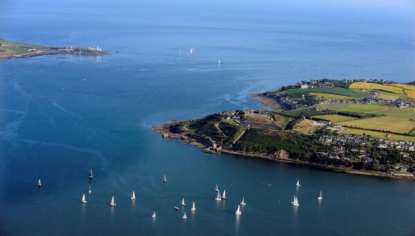Fort Camden, Crosshaven, and Roches Point, Cork Harbour. Picture: Denis Scannell