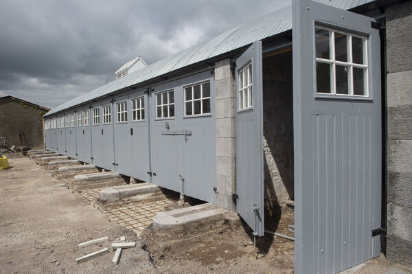 The refurbished gun shed. Picture Dan Linhan