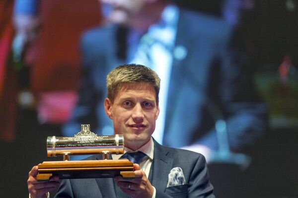 Munster and Ireland legend Ronan O'Gara was the last recipient of the Freedom of Cork in 2017. Pic Michael Mac Sweeney