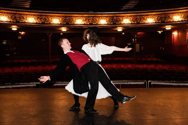 Performers on stage at The Everyman. Photo: Rory O'Toole