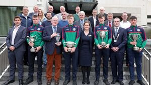 Patrician Academy honoured for their treble at the Rebel Óg awards