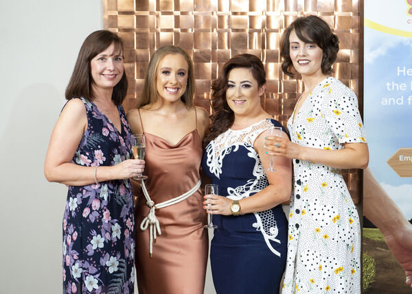 Grace O'Callaghan from The Shine Centre,Ellen Healy Ballyphehane ,Caitlin Bullman The Lough and Grace Keegan Douglas.