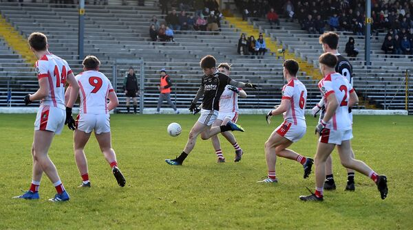 Josh Honohan in action for St Francis College. Picture: Don MacMonagle
