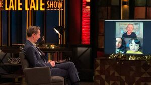 Cork's Adam King meets hero on Late Late show