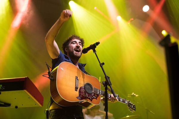 Danny O'Reilly from The Coronas.Pic Darragh Kane