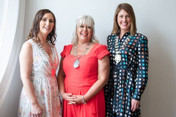 Attending the Network Ireland West Cork Businesswoman of the Year Awards were Gillian Hennessy, President of Network Ireland Cork, Ciara Lucy, NIWC President & Helen Wycherley, President of Network Ireland.