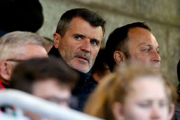 Roy Keane attends the game. Picture: INPHO/Oisin Keniry