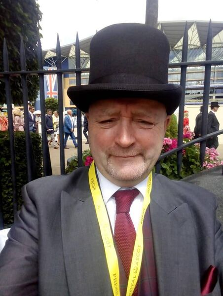 Joe Seward at Royal Ascot.