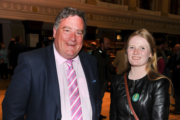 New Green Party councillors Dan Boyle and Lorna Bogue. Picture: David Keane.