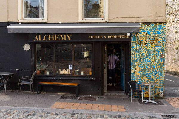 Alchemy Coffee and Bookshop, Barrack Street. Pic: Damian Coleman.