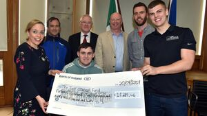Jack O'Driscoll in awe of fundraising efforts and support from people of Cork