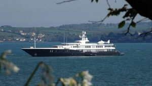 Luxury superyacht and cruise liner return to Cork