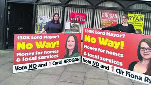Cork Solidarity candidate: €130k wage for mayor is an insult