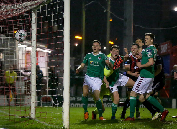 Conor McCarthy scores his side's first goal on Friday. Picture: INPHO/Oisin Keniry