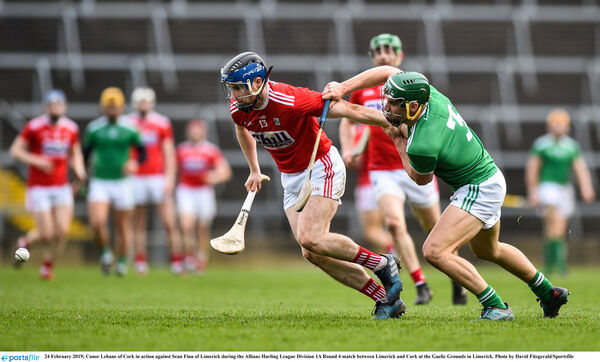 Conor Lehane uses a Liam Walsh hurley. Picture: David Fitzgerald/Sportsfile