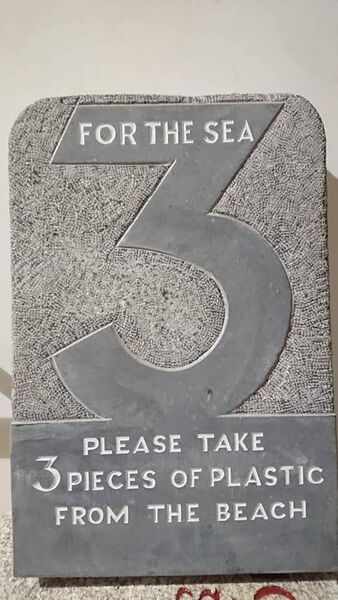 3 For the Sea plaque which will be a beaches in Crosshaven, and nearby