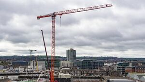 Construction boom in Cork as another crane joins the city skyline