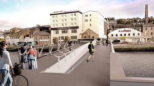 Cork's newest bridge to be lowered into place next month