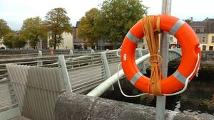 11 lifebuoys recovered from the River Lee