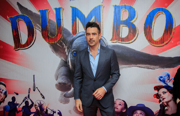 Colin Farrell at the Irish Premiere screening of Dumbo in the Light House Cinema, Dublin.Photo: Gareth Chaney Collins