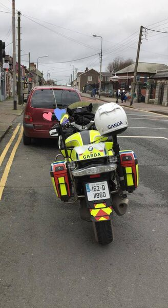 The car seized by the Cork Roads Policing Unit for no insurance. The driver was disqualified from driving already. Pic: An Garda Siochána