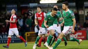 Late equaliser from St Patrick's Athletic denies Cork City victory