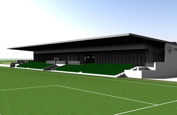 A computer generated image of the proposed FAI Centre of Excellence in Glanmire.