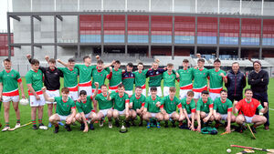 Hurling joy for Patrician Academy to add to their football success