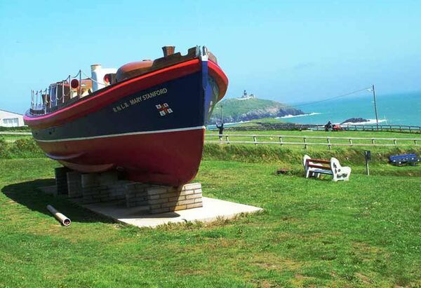 The Mary Stanford Lifeboat at Ballycotton.