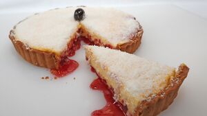 Recipe: A jam-packed slice