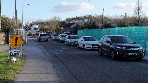 Traffic from Little Island towards the Eastgate Roundabout.Picture: Jim Coughlan.