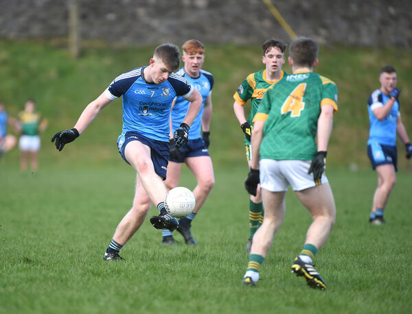 Ciaran O'Neill, Clonakilty CC, in action in a Corn Uí Mhuirí match. Picture: Larry Cummins.