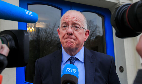Justice Minister Charlie Flanagan is planning a review of personal injury payouts. Photo: Gareth Chaney Collins
