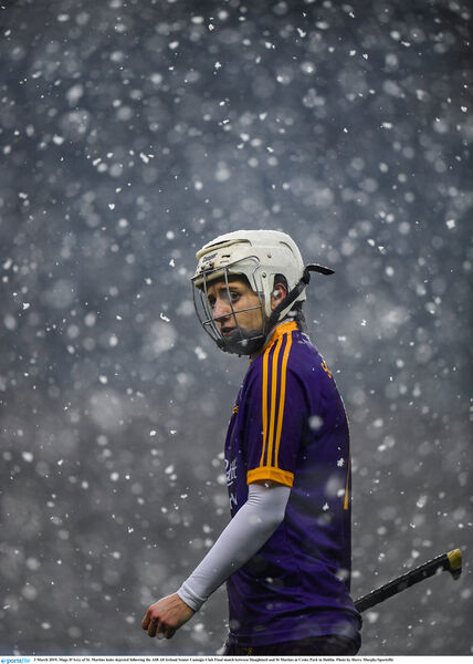 Mags D'Arcy still hurls with St Martin's. Picture: Harry Murphy/Sportsfile
