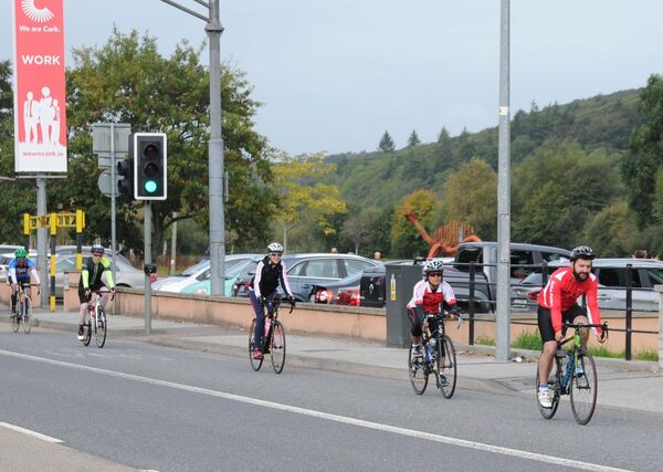 Cycle groups say they do not feel safe on the Carrigrohane Road. Picture Denis Minihane.