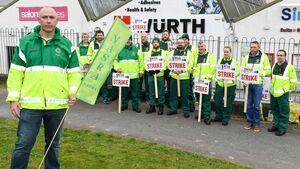 Cork ambulance staff on strike today amid fears of escalation