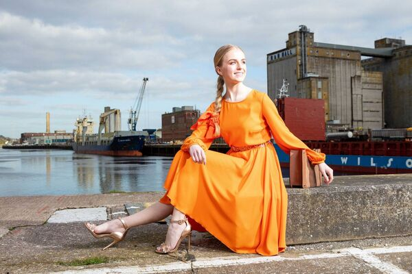 Rebecca Dineen, another finalists in UCC's Next Top Model 2019. Picture: Michael O'Sullivan /OSM PHOTO
