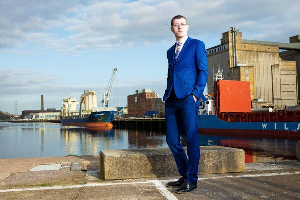 Jamie O'Brien, pictured at Port of Cork Marina. Picture: Michael O'Sullivan /OSM PHOTO