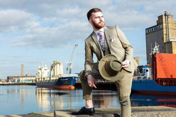 Ronan Carey, from Fermoy, features in the final tomorrow night of UCC's Next Top Model. Picture: Michael O'Sullivan /OSM PHOTO