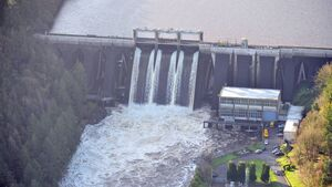 ESB increases dam discharge following recent heavy rains
