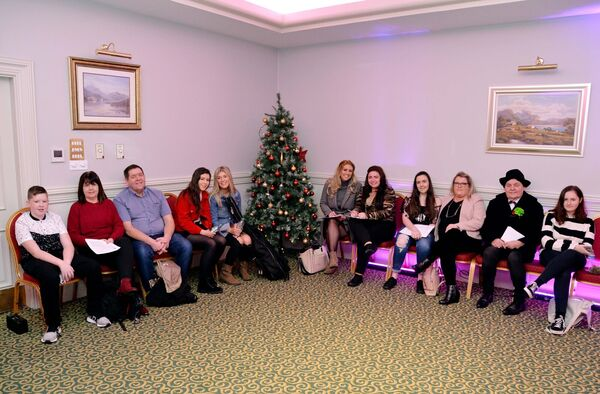 Waiting for auditions for Britain's Got Talent in the Ambassador Hotel, Cork. Picture Denis Minihane.