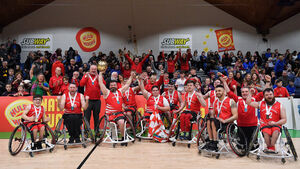 Rebel Wheelers prove their class by landing the National Cup in real style