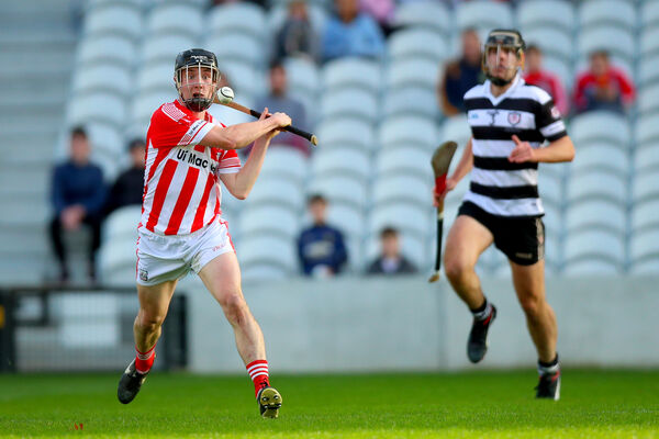 Imokilly's Shane Hegarty scores a goal against Midleton. Picture: INPHO/Oisin Keniry