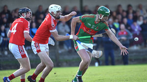 A clipboard and waterbottle flying through the air together just showed how much club hurling means