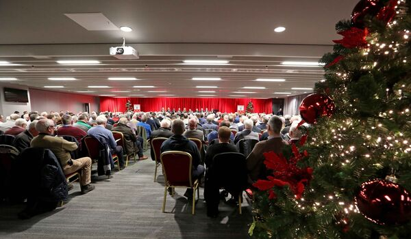 A full house for the Cork convention last weekend. Picture: Jim Coughlan