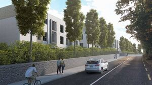Plans lodged for 240 new homes on the Waterfall Road