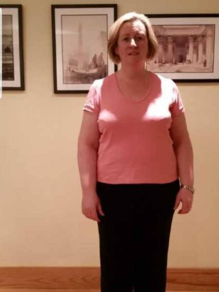 Ber Nash said her weight crept up to 16 stone.