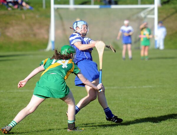 Inniscarra's Rena Buckley clears the ball downfield. Picture Denis Minihane.