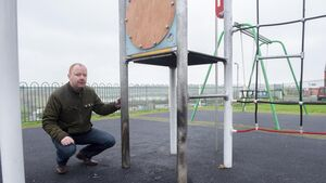 Councillor warns on trend of playground vandalism